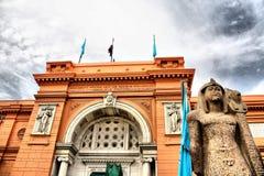 Το αιγυπτιακό μουσείο στοκ φωτογραφίες με δικαίωμα ελεύθερης χρήσης