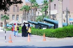 Το αιγυπτιακό στρατιωτικό μουσείο Στοκ φωτογραφία με δικαίωμα ελεύθερης χρήσης
