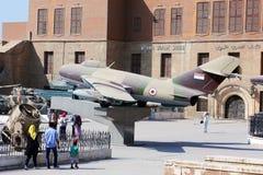 Το αιγυπτιακό στρατιωτικό μουσείο Στοκ εικόνα με δικαίωμα ελεύθερης χρήσης
