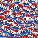 Το ΑΜΕΡΙΚΑΝΙΚΟ διακριτικό ψηφοφορίας καρφώνει το πρότυπο ελεύθερη απεικόνιση δικαιώματος