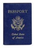 το αμερικανικό διαβατήρι& Στοκ φωτογραφία με δικαίωμα ελεύθερης χρήσης