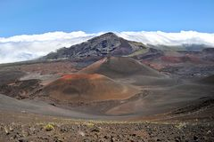 Το αμερικανικό εθνικό πάρκο HaleakalÄ  στοκ φωτογραφία με δικαίωμα ελεύθερης χρήσης