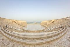 Το αμφιθέατρο στο πολιτιστικό χωριό Katara, Doha Κατάρ Στοκ φωτογραφίες με δικαίωμα ελεύθερης χρήσης