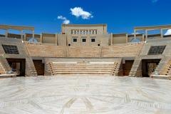 Το αμφιθέατρο Katara, Doha, Κατάρ στοκ εικόνα