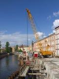 Το ανάχωμα επισκευάζει Στοκ εικόνα με δικαίωμα ελεύθερης χρήσης
