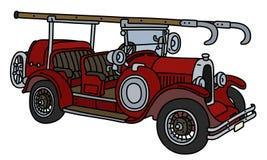 Το αναδρομικό πυροσβεστικό όχημα απεικόνιση αποθεμάτων
