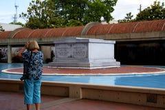 Το αναμνηστικό κέντρο στο Δρ Martin Luther King Jr στην Ατλάντα Γεωργία Στοκ εικόνα με δικαίωμα ελεύθερης χρήσης