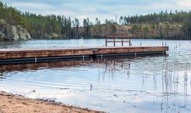 το ανατολικό βουνό τοπίων λιμνών koli της Φινλανδίας που φωτογραφίζεται στοκ εικόνα με δικαίωμα ελεύθερης χρήσης