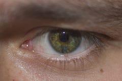 Το ανθρώπινο μάτι εξετάζει με Στοκ Εικόνα