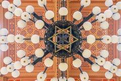 Το ανώτατο όριο στη μεγάλη συναγωγή είναι ένα ιστορικό κτήριο στη Βουδαπέστη, Ουγγαρία Στοκ φωτογραφίες με δικαίωμα ελεύθερης χρήσης