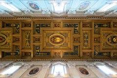 Το ανώτατο όριο της βασιλικής Di SAN Giovanni σε Laterano, Ρώμη Στοκ Εικόνες