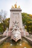 το ανώτατο u Ουάσιγκτον δ s δικαστηρίων γ S S Εθνικό μνημείο του Μαίην στο Central Park Στοκ Εικόνες