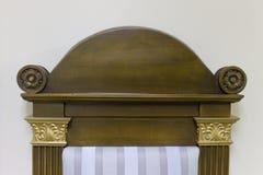 Το ανώτερο μέρος των δικαστικών καθισμάτων στοκ φωτογραφίες με δικαίωμα ελεύθερης χρήσης