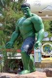 Το απίστευτο HULK πρότυπο άγαλμα στοκ φωτογραφίες