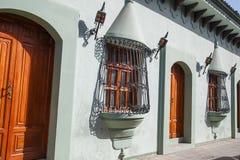 Το αποικιακό σπίτι βλέπει υπαίθρια από τη Νικαράγουα Στοκ φωτογραφία με δικαίωμα ελεύθερης χρήσης