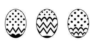 Απομονωμένο αυγό Πάσχας ελεύθερη απεικόνιση δικαιώματος