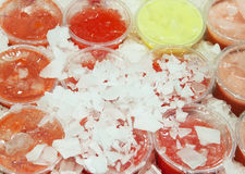 Το απομονωμένο κούνημα πίνει τα φρούτα coctails Στοκ φωτογραφίες με δικαίωμα ελεύθερης χρήσης