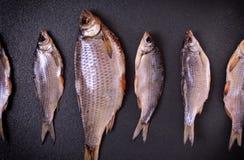 Το αποξηραμένο ψάρι είναι ένας κριός των διάφορων μεγεθών λ Στοκ φωτογραφία με δικαίωμα ελεύθερης χρήσης