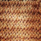 Το απλό stich για το πλεκτό ή πλέκει στοκ εικόνες