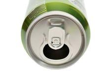 το αργίλιο μπορεί ποτά άνο&iot Στοκ Εικόνες
