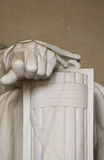Το αριστερό χέρι Abe Λίνκολν Στοκ Εικόνα