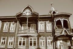 Το αρχαίο εμπορικό σπίτι Στοκ Φωτογραφία