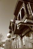 Το αρχαίο εμπορικό σπίτι Στοκ εικόνα με δικαίωμα ελεύθερης χρήσης