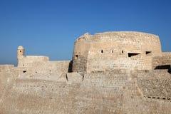 Το αρχαίο οχυρό του Μπαχρέιν Στοκ εικόνα με δικαίωμα ελεύθερης χρήσης