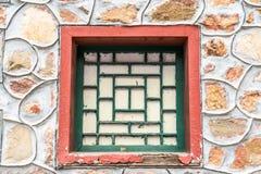 Το αρχαίο παράθυρο Στοκ Εικόνες