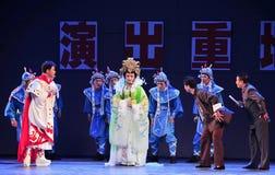 Το αρχαίο παλτό μεταμφιεσμένος-Jiangxi OperaBlue Στοκ φωτογραφίες με δικαίωμα ελεύθερης χρήσης