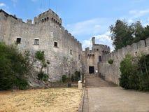 Το αρχαίο φρούριο στον Άγιο Μαρίνο r στοκ φωτογραφία