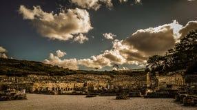 Το αρχαίο Kamiros στη νότια Ρόδο στοκ εικόνα