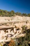 το αρχαίο mesa του Κολοράντο καταστρέφει verde Στοκ Φωτογραφία