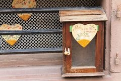 Το αρχικό μετα κιβώτιο στη Γαλλία στοκ εικόνες με δικαίωμα ελεύθερης χρήσης
