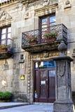 Το αρχιτεκτονικό σύνθετο Poble Espanyol της παραδοσιακής αρχιτεκτονικής της χώρας Δημιουργημένος το 1929 για ένα διεθνές exhi Στοκ φωτογραφίες με δικαίωμα ελεύθερης χρήσης