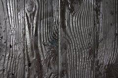 Το ασήμι χρωμάτισε τον ξύλινο τοίχο Στοκ εικόνες με δικαίωμα ελεύθερης χρήσης