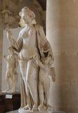 Το ασβεστοκονίαμα στο μουσείο LE louvre, Παρίσι, Γαλλία στοκ εικόνα