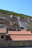 Το ασημένιο ορυχείο παραμένει Στοκ Εικόνες