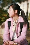 το ασιατικό κορίτσι βιβλί στοκ φωτογραφία με δικαίωμα ελεύθερης χρήσης