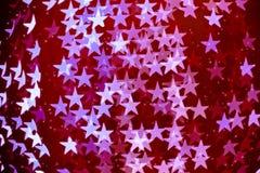 Το αστέρι διαμόρφωσε το θολωμένο bokeh υπόβαθρο με τα σπινθηρίσματα Στοκ φωτογραφία με δικαίωμα ελεύθερης χρήσης