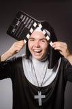 Το αστείο άτομο Στοκ φωτογραφία με δικαίωμα ελεύθερης χρήσης