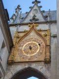 Το αστρονομικό ρολόι στο Οξέρ, Γαλλία Στοκ Φωτογραφίες