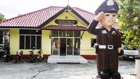 Το αστυνομικό τμήμα στην Ταϊλάνδη στοκ φωτογραφίες με δικαίωμα ελεύθερης χρήσης