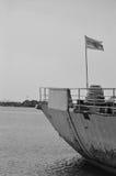 Το αυστηρό πολεμικό πλοίο Στοκ φωτογραφίες με δικαίωμα ελεύθερης χρήσης