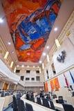 Το αυστριακό Κοινοβούλιο στο παλάτι Hofburg Στοκ Εικόνες