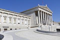 Το αυστριακό Κοινοβούλιο Στοκ εικόνα με δικαίωμα ελεύθερης χρήσης