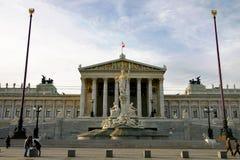 το αυστριακό Κοινοβούλ& Στοκ Φωτογραφία