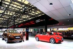 Το αυτοκίνητο εμφανίζει, αυτόματη Σύνοδος Κορυφής το 2011 της Σαγκάη Στοκ Εικόνες