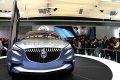 Το αυτοκίνητο εμφανίζει, αυτόματη Σύνοδος Κορυφής το 2011 της Σαγκάη Στοκ Φωτογραφίες