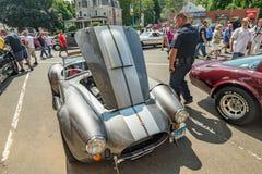 Το αυτοκίνητο παρουσιάζει στο Μάντσεστερ Κοννέκτικατ Στοκ Φωτογραφίες